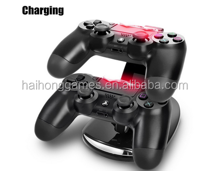 Dual Charging Dock for Sony Playstation 4/PS4 Controller Charger For Playstation4 Controller Charging Dock with USB cable