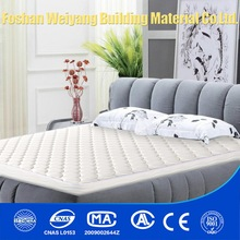 WY01-S California King Size Cotton White Fish Scale Knitted Fabric Bed Pocket Spring Mattress