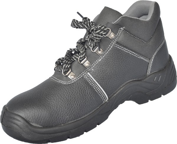 Steel toe anti static safety shoes