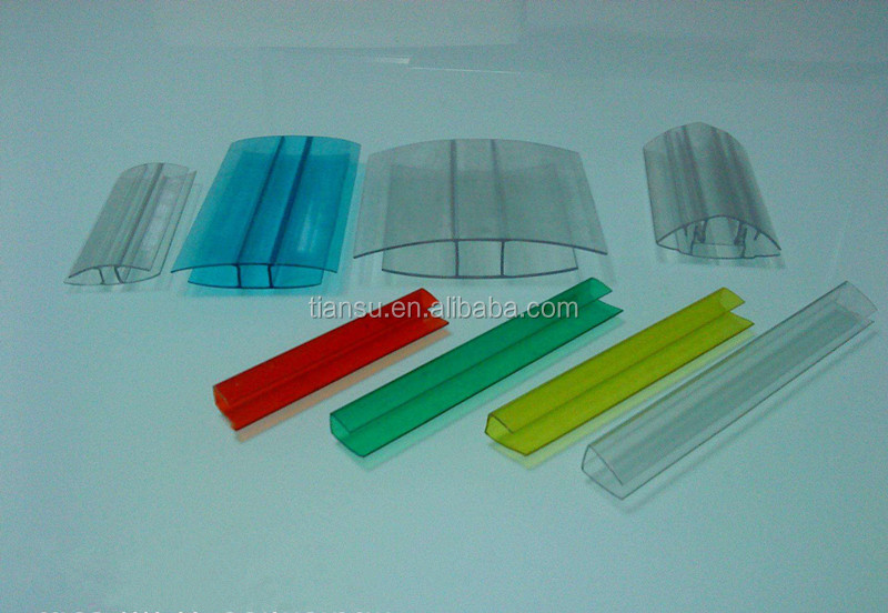 Polycarbonate PC Accessories/PC H and U Profile/PC Buckle down