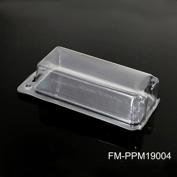 Biodegradable pla plastic disposable food containers packing box