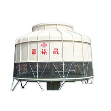 Round Small Cooling Tower Level Control Water Cooling Equipment