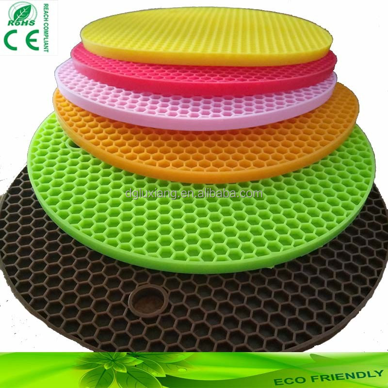 Household Silicone/pvc pot holder silicone baking mat
