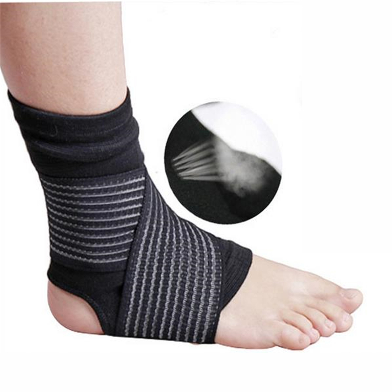 Feet Boxing Gym Ankle Support Bandage Double Compression Sport Ankle Support Stretched Anti Shock Ankle Brace Support