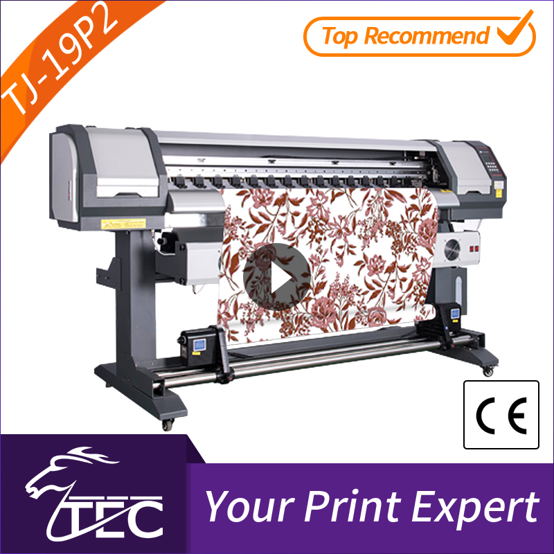 popular 1.8m 2 pcs pc3200 head sublimation polyester belt type textile digital printer