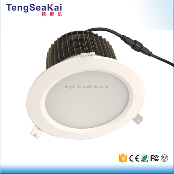 "Office commercial lighting 50W-150W 12"" 10"" 8"" 6"" recessed LED downlights"