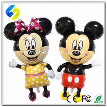 Cartoon Design mice Foil Helium Balloon for Birthday Party Decoration Kids