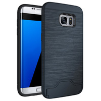 Strong supply manufacturer for Samsung galaxy S7 edge TPU case / phone cover for Samsung S7 pc credit card case