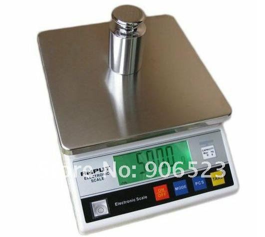 1kg x 0.1g Accurate Jewelry Gram Gold Gem Coin Balance Weight Digital Scale with Counting Function, Industrial Table Top Scale