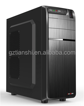 new atx case model/desktop computer casing with 3 USB/ Pc Chassis skd or ckd