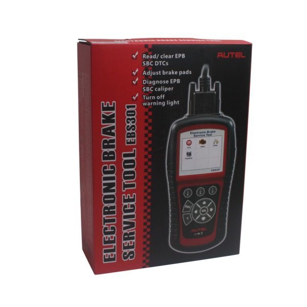 Best Quality Professional Original Autel Electric Brake Service Tool EBS301 Update Online For Sale