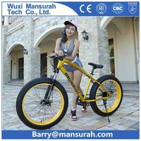 26 INCH TENDEM BICYCLE / FAT TIRE DOUBLE SEATS BICYCLE /2 SEAT FAT BIKE