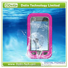 Factory supply waterproof phone case for samsung galaxy s5 s4 s4 mini