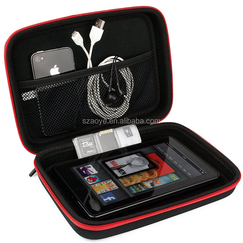Red Black Hard Shell Carrying Case Suitable for Nintendo 2DS , 3DS , 3DS XL Sony PSP , PSP Vita