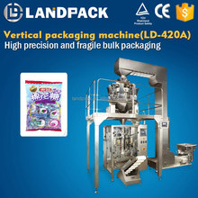 500g 1kg Sugar Packing Machine With 4 Head Balance