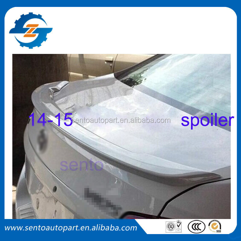 High quality ABS auto vios rear spoiler for vios 2014-2015