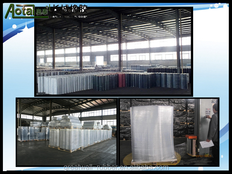 High quality industrial Neoprene/CR  Rubber Sheet