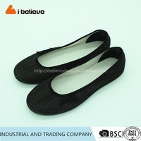 New wholesale cotton fabric casual shoe lady fashion