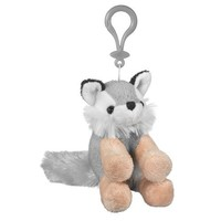 2015 new design plush fox keychain, keychain plush fox , fox plush keychain