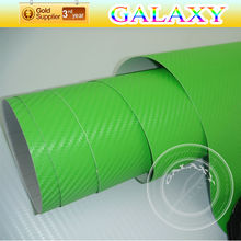 car vinyl wrap 3d carbon fiber vinyl with air drains using 3m removable glue