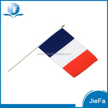 2016 Europe Football Cup Retail/Wholesale French Hand Flag In Stock
