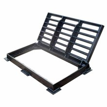 South Africa EN124 C250 ductile iron rectangle floor gully grating