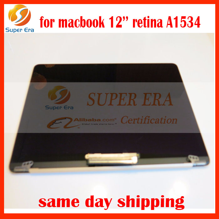 GENUINE for Apple Macbook 12'' reitna Core A1534 2015 Retina LED LCD Screen Assembly GOLD silver gruy perfect testing early 2015