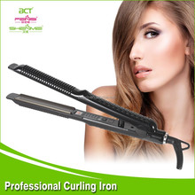 Mini Pro Nano Titanium 1/4 Inch Flat Iron Hot Hair Curling Iron For Men