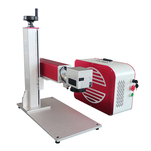 Aliababa website handheld laser engraving machine for marking metal of 20w Rotary Fiber laser marking machine for jewelry
