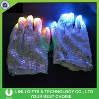 Finger Tip Led Light Glove, Flashing Light Glove, Party Led Gloves