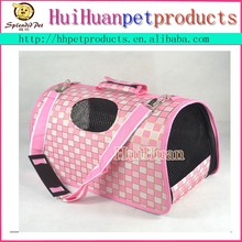Lovely dog carrier pink dog carrier outdoor