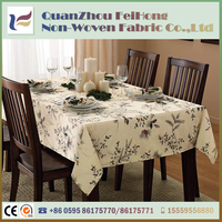 Durable Table Cloth Non-toxic Waterproof Pe Laminated Pp Nonwoven Fabric for Home Textile