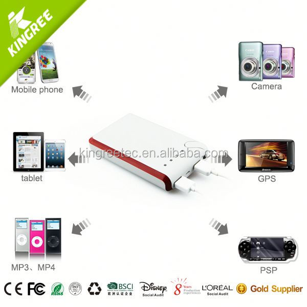 5600mah external battery charger portable power bank Factory Price OEM portable charger