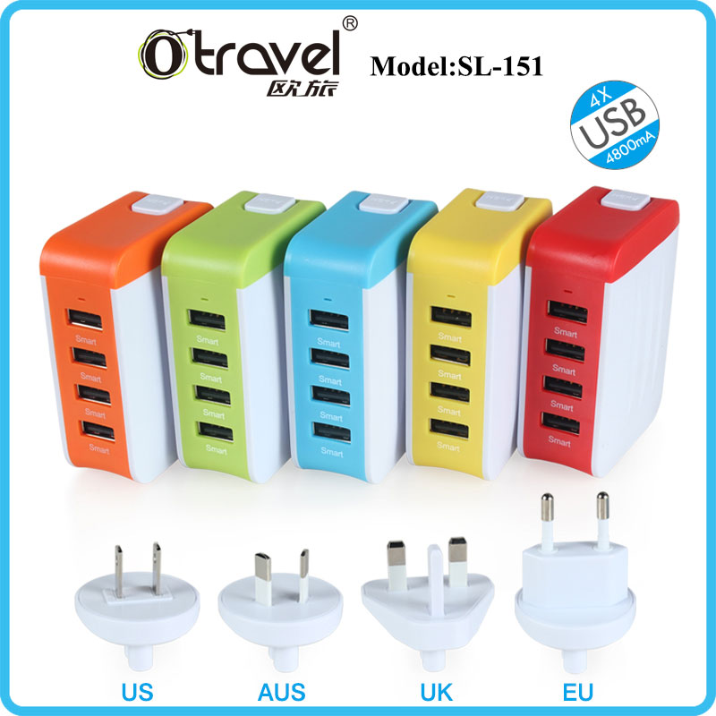 New Mobile Phone Accessories 4 port usb charger amazon