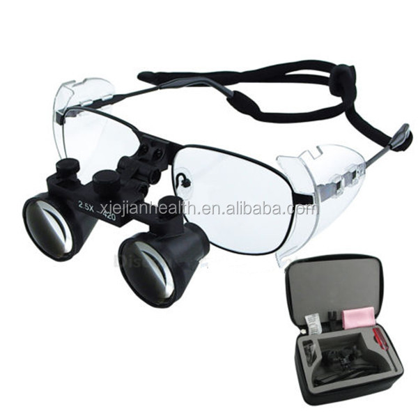 420MM Galilean Dental Surgical Binocular Loupe 2.5 X for Dentists AU Loupes