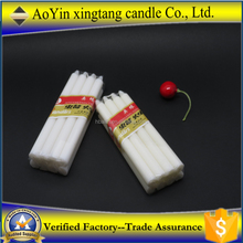 Easy carried safari small taper candle/candle brand names