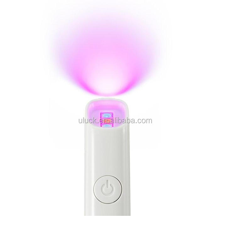 New home use battery operate Light Therapy Acne Spot Treatment