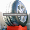 Customized advertising inflatable tire, inflatable tire model for sale