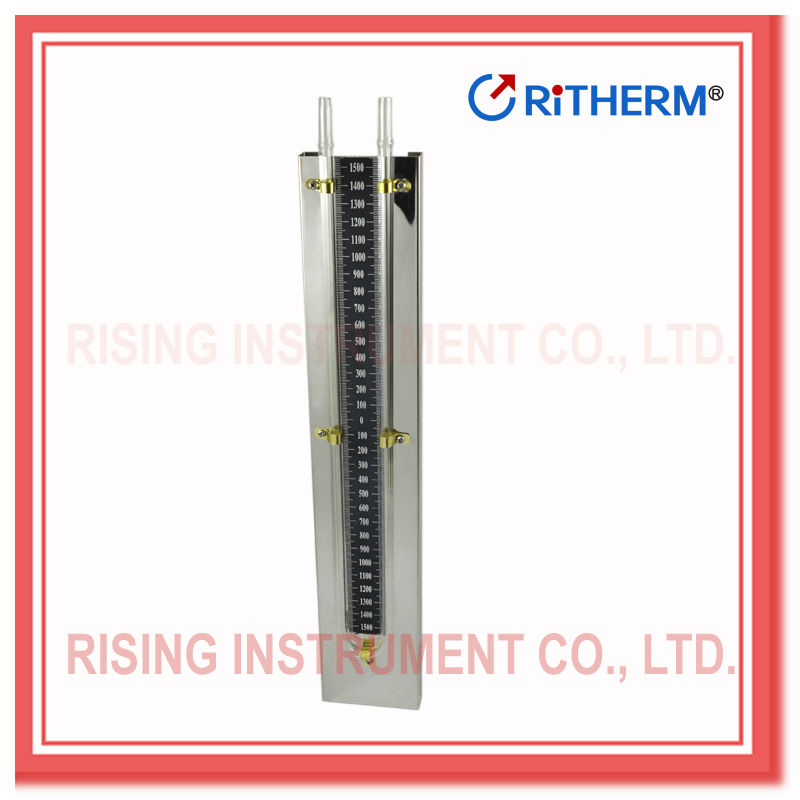 stainless steel body single tube manometer