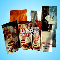Stand up Ziplock Diet Coffee Bags