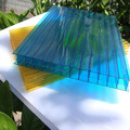 hard plastic double wall hollow polycarbonate sheets used for building material
