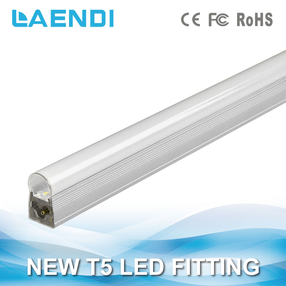 Milky Cover 1800lm 4ft integrated T5 led tube light, 48 inch led t5 light tube integrated 4 feet to USA