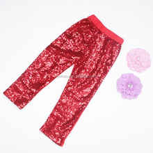 2016 Latest Leggings Pictures New Fashion Sequin Pants For kids