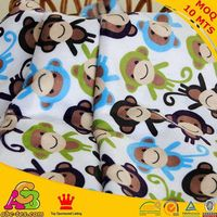 China Professional Factory Supply Minky Print Fabric