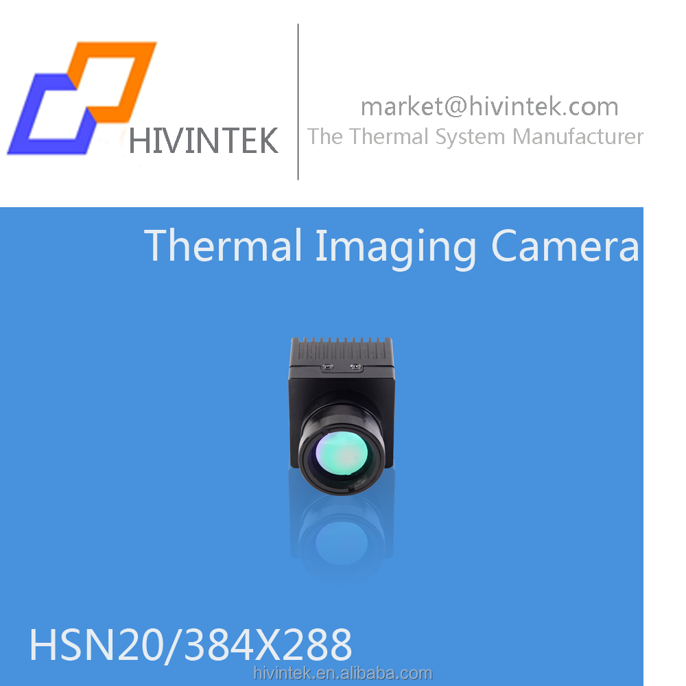 HSN20 network thermal imaging camera 384*288 pixel for monitoring and fire fighting