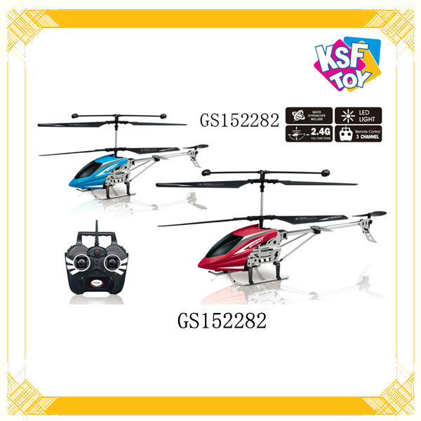 3 Channel Radio Control Helicopter With Gyro