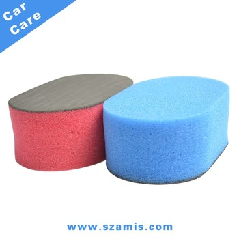 China Manufacturer Wholesale Auto Magic Polishing Eraser For Sale Soft Easy Grip Car Wash Cleaning Sponge Pad
