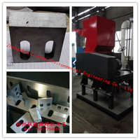 longer using life plastic crusher for film/pipe/sheet/nylon/rubber/plastic bottle