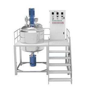 Vacuum Homogenizer Emulsifier Tank For Cake Gel/Mayonnaise