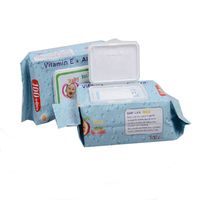 High Quality Competitive Baby Wet Wipe With Aloe Vera And Vitamin E Manufacturer from China